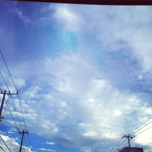 #blue #sky #morning #oct #19th #japan #tokyo #skythelimit #cloud