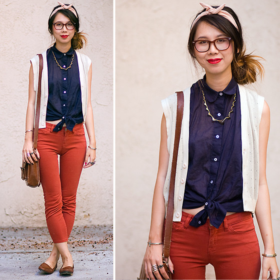 lookbookdotnu:  Grandpa's Vest (by Cindy Chi)