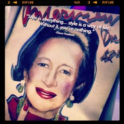 Thrilling, inspiring, Vreeland. See @dvDianaVreeland the documentary at the TIFF Bell Lightbox. #fashion