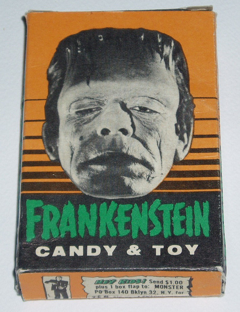 Frankenstein Candy & Toy (1960s)
