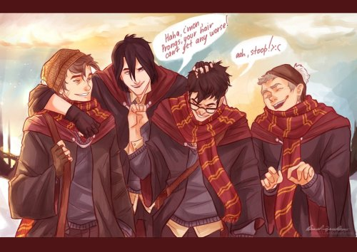 h-ermioneee:  Wild Ones The Marauders <3 I just love that.