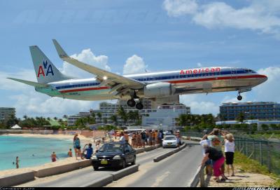 #american_airlines, #aviation, #boeing, #boeing_737, #boeing_737_next_generation, #boeing_737_800, #st_maarten, #st_maarten_princess_juliana_international_airport