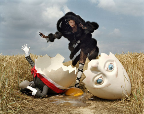 I love this image from Tim Walker's new book, Story Teller.
