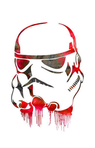 Storm Trooper Print  Now Available on Society6.com  http://society6.com/J0nHernandez/Storm-Trooper-Print_Print