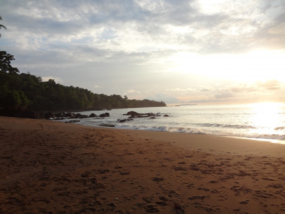 Drake Bay sunset in Costa Rica. Photo by Marcus, Matador member.
