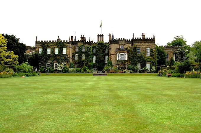 | ♕ |  Sitwell Estate - The Renishaw Hall & Gardens  | by © buildings fan Renishaw Hall is a country house in Renishaw in the parish of Eckington in Derbyshire, England. It is a Grade-I listed building and has been the home of the Sitwell family for over 350 years. The hall is located south-east of Sheffield, and north of Renishaw village, which is north-east of Chesterfield. [Ref. Wiki]