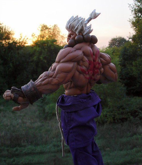 """Fade to nothingness! your weakness disgusts me!"" -Akuma"