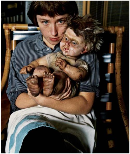 mannequinsvitrine:  Cindy Sherman  This portrait is just wonderful.