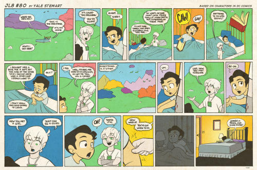 jl8comic:  JL8 #80 by Yale Stewart Based on characters in DC Comics. Creative content © Yale Stewart. Like the Facebook page here! Archive
