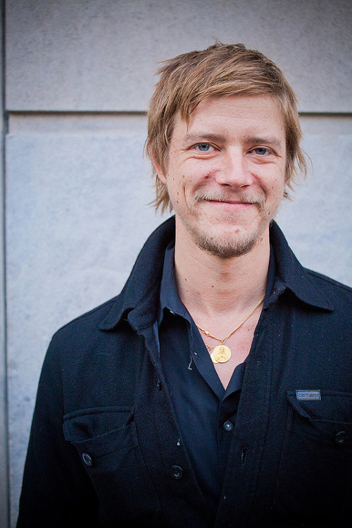 Paul Banks, after his KEXP session from our CMJ broadcast in NYC.photo credit: Benjamin Mobley more photos from this session on the KEXP Blog.