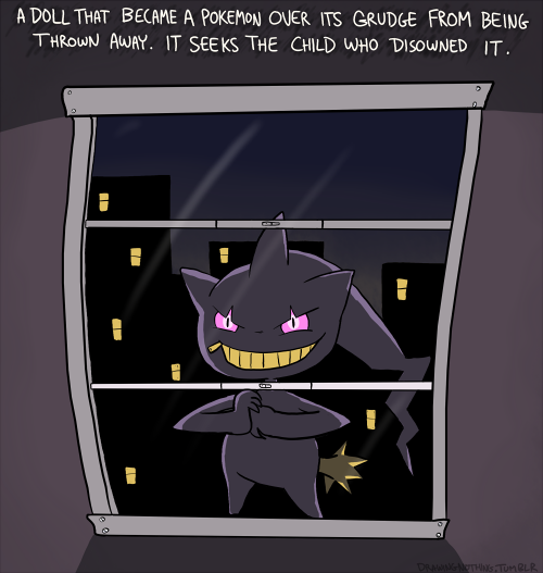 Strange and Creepy Pokedex Entries #5 Banette