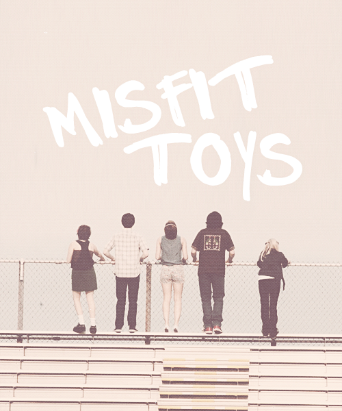welcome to the island of misfit toys.