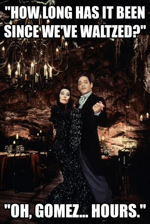 vivalasgomez:  Gomez & Morticia the perfect couple