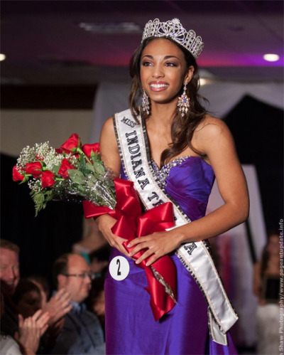 Congratulations to Darrian Arch, Miss Indiana Teen USA! Darrian is 17 and a senior at Chesterton High School.  More photos of her win can be found on her profile here! Photo (C) Edwin Shaw Photography/PageantImages.com.