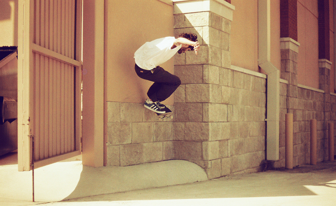 From the Archive ≈ Bagel blasting a wallieee nollie [ kickin the face ] pop off