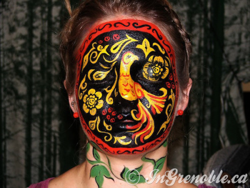 What talent! Check out Elizaveta A.'s amazing face art.