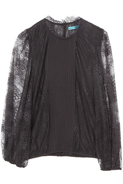 ALICE + OLIVIA Shauna High Neck Top by Alice + Olivia