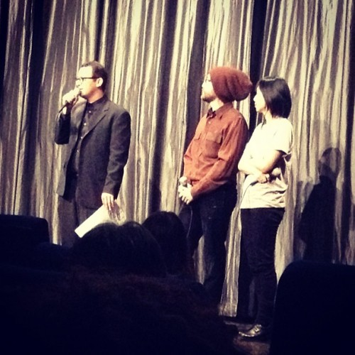 Check out @seanonolennon repping ArtistsAgainstFracking.Com at IFC tonight! #client