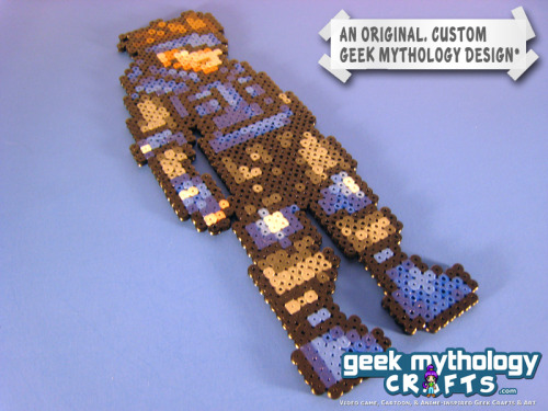 Price Reduced! Custom-designed Metal Gear Solid Snake Bead Sprite Was $10 - Now $8.95 Snaaaaaaaaake! Dun dun dun dun dun, DUN DUN DUN!