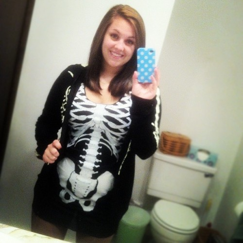 Costume for Morgantown! :DDD #halloween #costume #skeleton #cantwait
