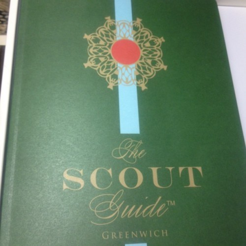 The Scout Guide Greenwich Vol. #1 @thescoutguide @leomascotte  Congrats!
