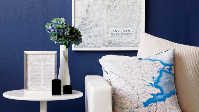 Maps galore!:) Image: HomeLife