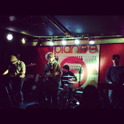 Philly's @ApeSchool jus started at @pianosnyc for @windishagency's showcase! #cmj2012