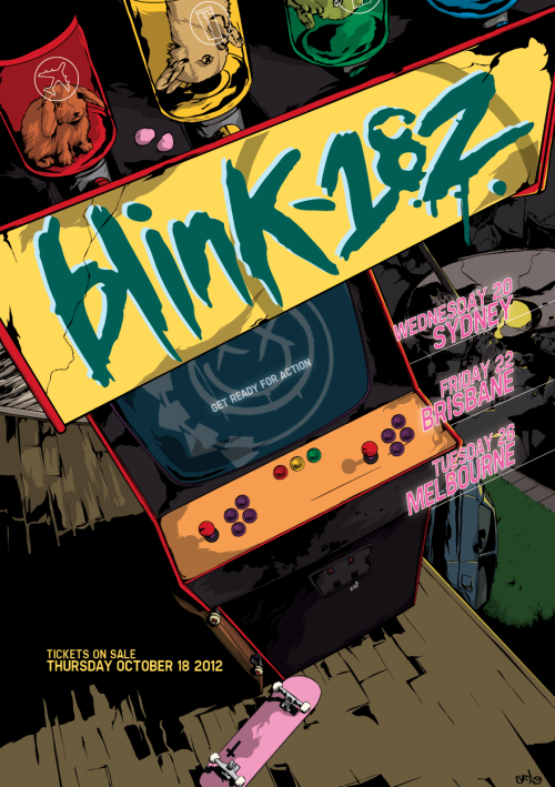 soundwave/blink 182 promo competition entry.