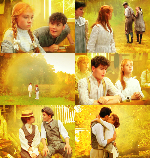 avonleavignettes:  aedisons asked for Anne and Gilbert in yellow.