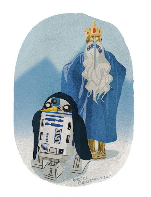 (via What Would STAR WARS Droids Dress Up As For Halloween? - News - GeekTyrant)