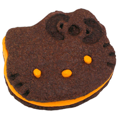 hello-kitty:  Hello Kitty Halloween Cookie