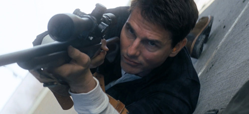 Tom Cruise is Jack Reacher in Christopher McQuarrie's Jack Reacher. Not sure what to make of this? Watch here: http://onfs.net/OIfNzZ
