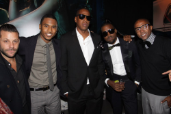 Jay-Z, Anthony Mandler, Trey Songz, Kanye West, and Kevin Liles. 2010.