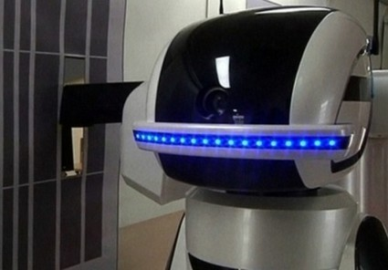 South Korea is testing the world's first robot prison guard developed by the Asian Forum For Corrections