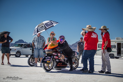 christine parsley cycle world marketer and AMA land speed record holder