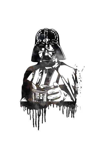 Darth Vader Print Now Available on Society6.com