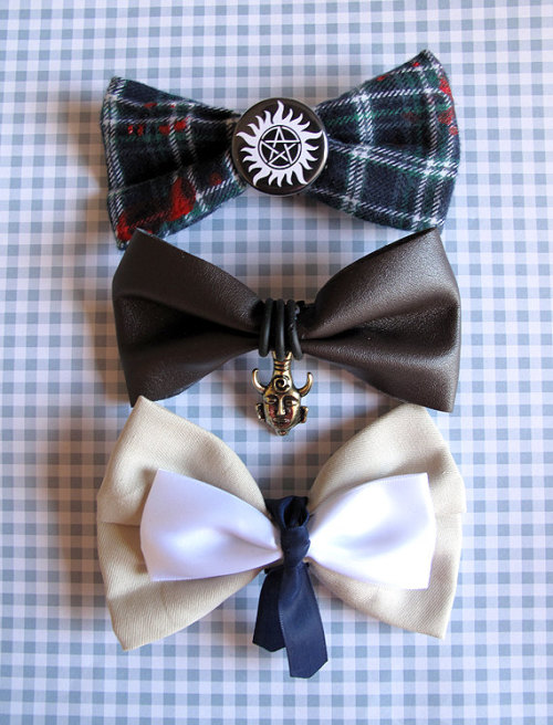 heysammy:  letluvguideyou:  Supernatural Bow Ties