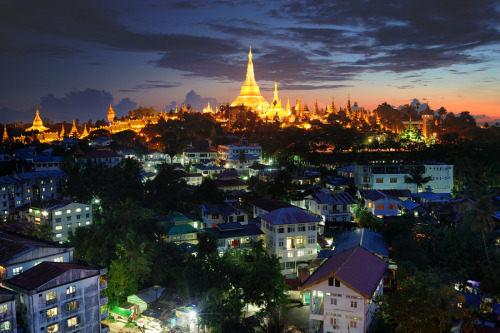 westeastsouthnorth:  Rangoon, Burma