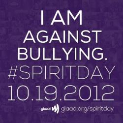 gaywrites:  Spirit Day!