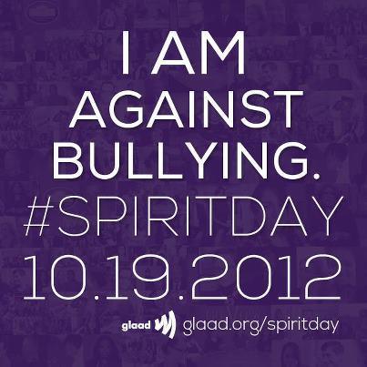 gaywrites:  Spirit Day!