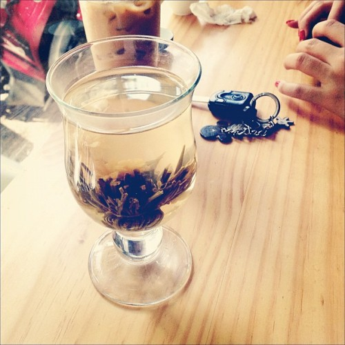 trà (at Phuc Long Tea & Coffee)