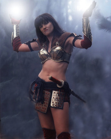 theobsessedbird:  Lucy Lawless is Xena: Warrior Princess  cy