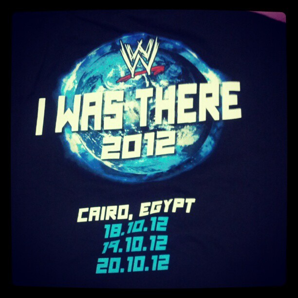 Bought it yesterday @WWE #WWEcairo #WWE #Smackdown [back]