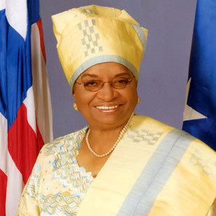 Ellen Johnson Sirleaf you& 039;re such a queuety