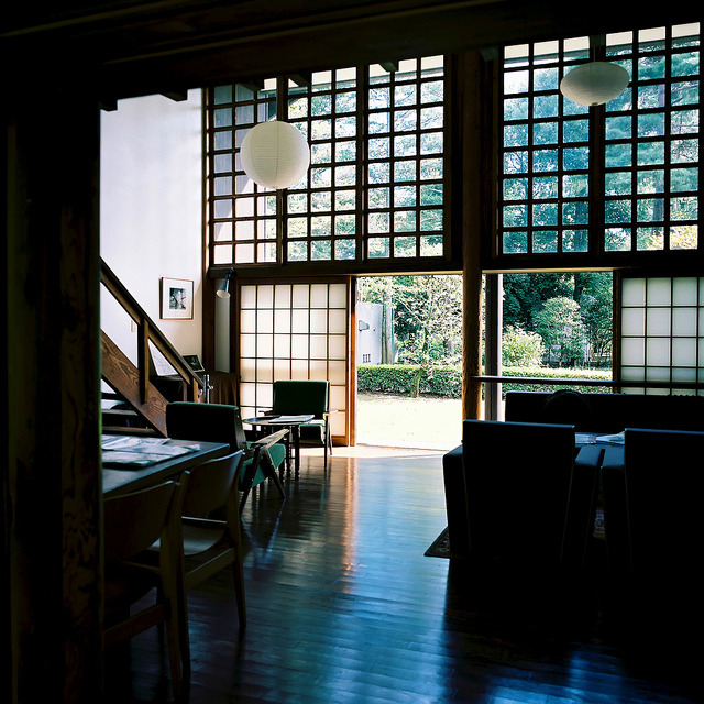 heartisbreaking:  Kunio Maekawa House by Kinta Go Go on Flickr.