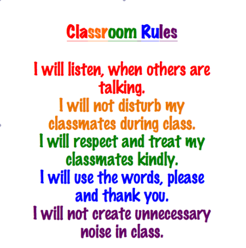 passion4teaching:  I made these rules for my year 7 classroom! going to print it on A3 paper and laminate it. *you are free to use it, copyright free =]