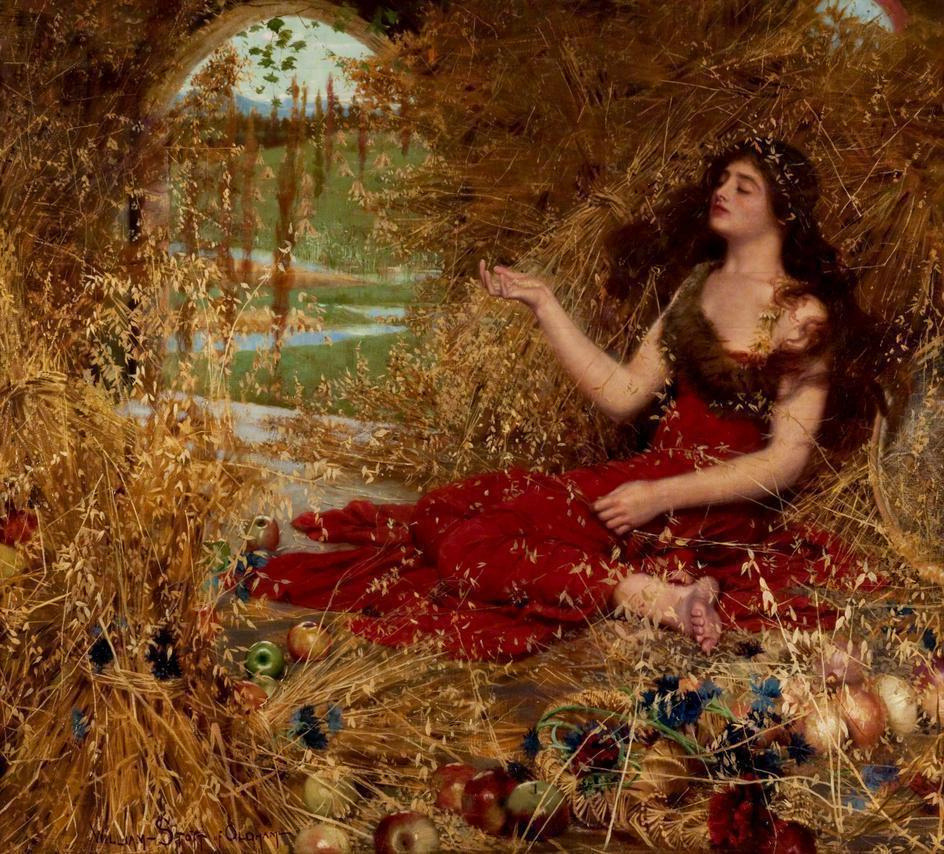 snowce:  William Stott, Autumn, 1898