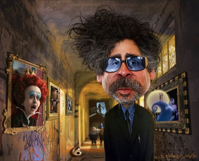 tattoovose:  Tim burton