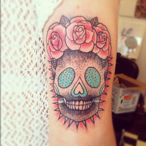 fuckyeahtattoos:  One of my favourite tattoos that I have!Done by Memento Mori Tattoos (http://www.mementomoritattoostudio.com/) Sydney, Australia