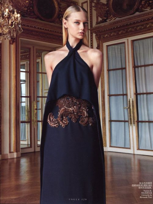 Vogue China | Givenchy Haute Couture photographed by Patrick Demarchelier